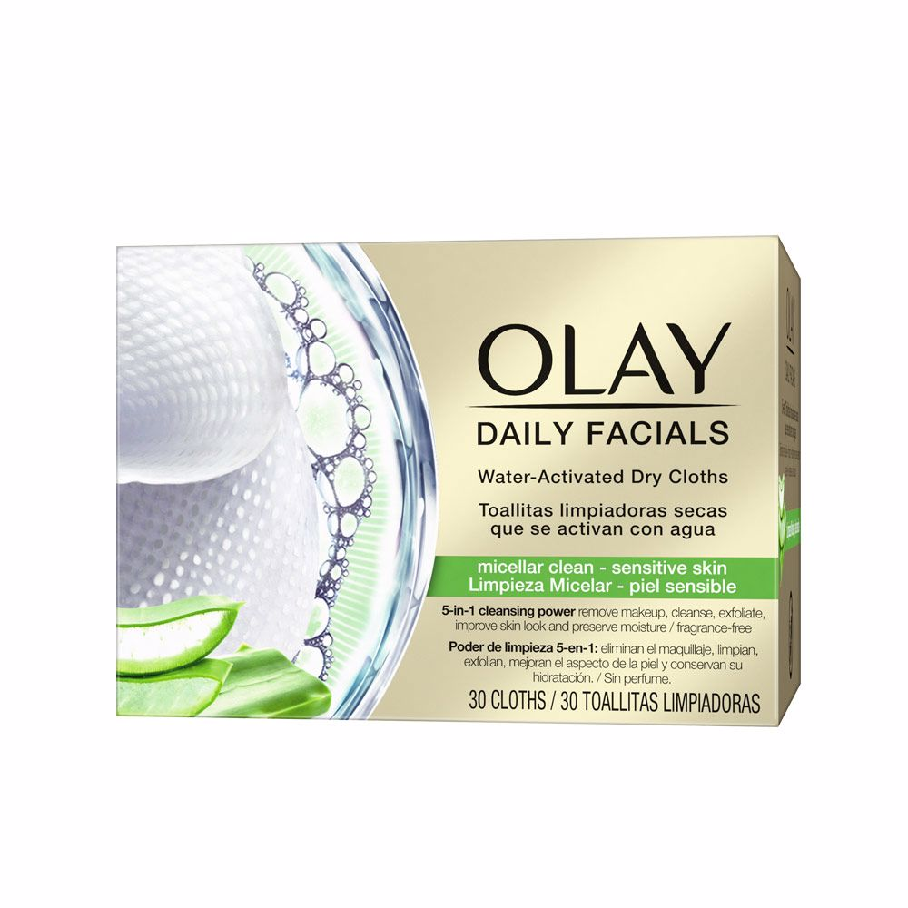 CLEANSE daily facials micellar toallitas secas PS