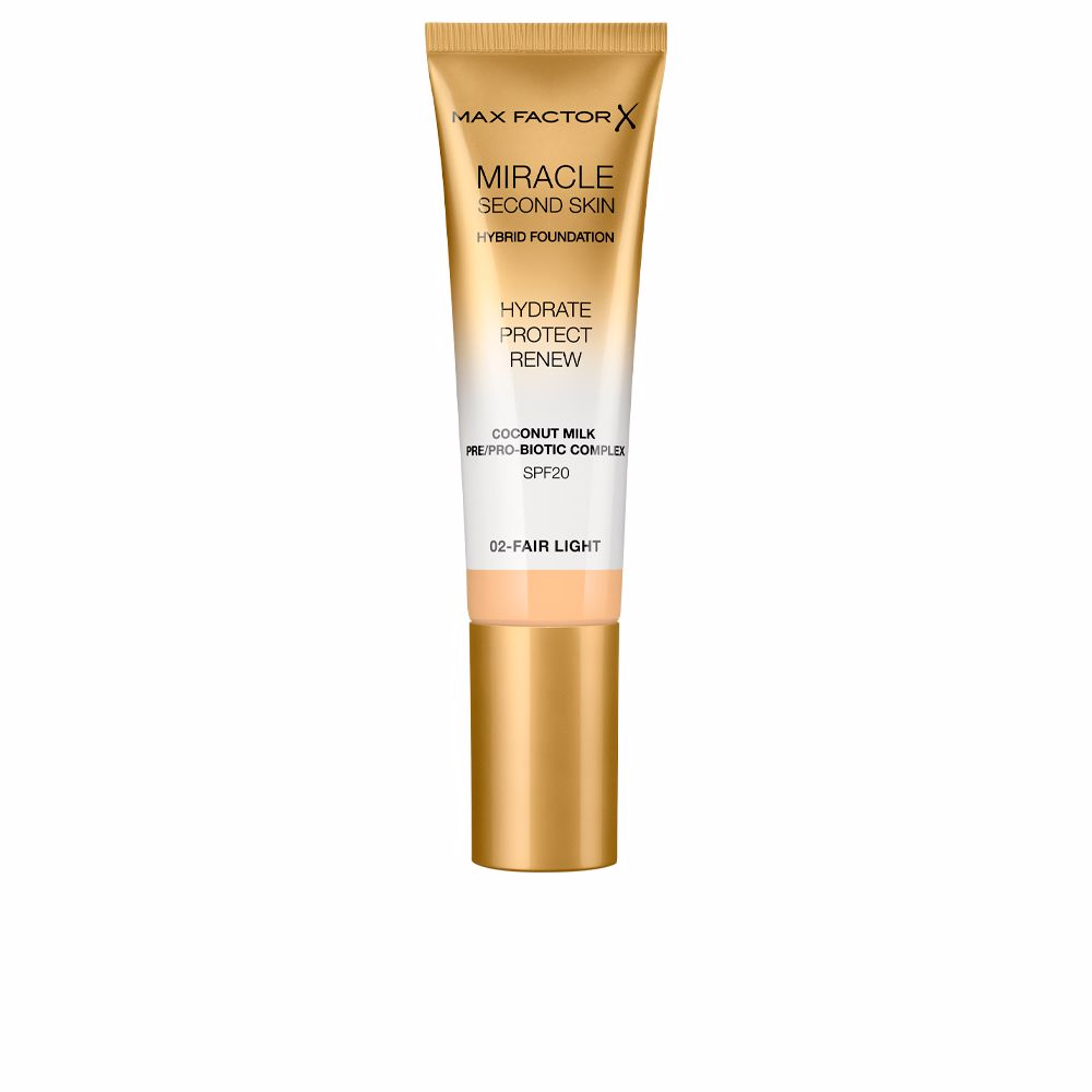 MIRACLE TOUCH second skin hybrid foundation SPF20