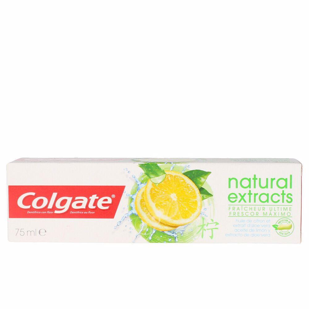 NATURAL EXTRACTS frescor máximo pasta dentífrica