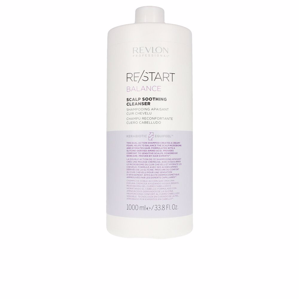 RE-START balance soothing cleanser shampoo