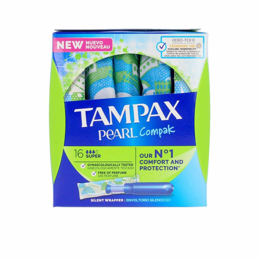 TAMPAX PEARL super tampon