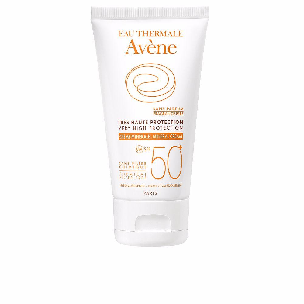 SOLAIRE HAUTE PROTECTION crème minérale SPF50+