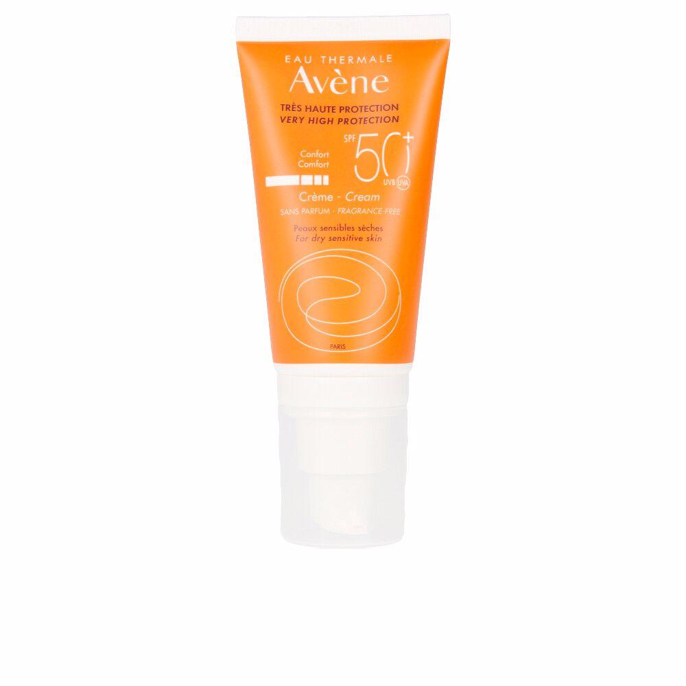 SOLAIRE HAUTE PROTECTION crème sans parfum SPF50+