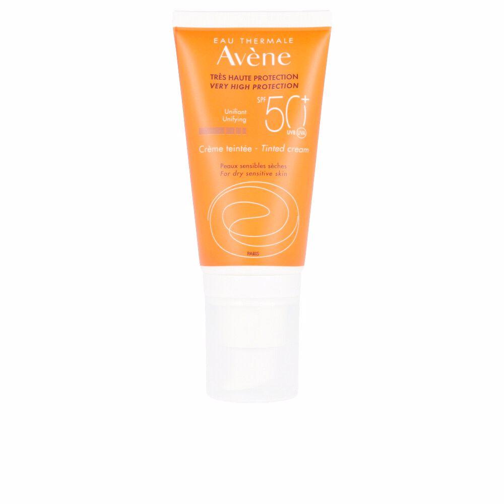 SOLAIRE HAUTE PROTECTION crème teintée SPF50+