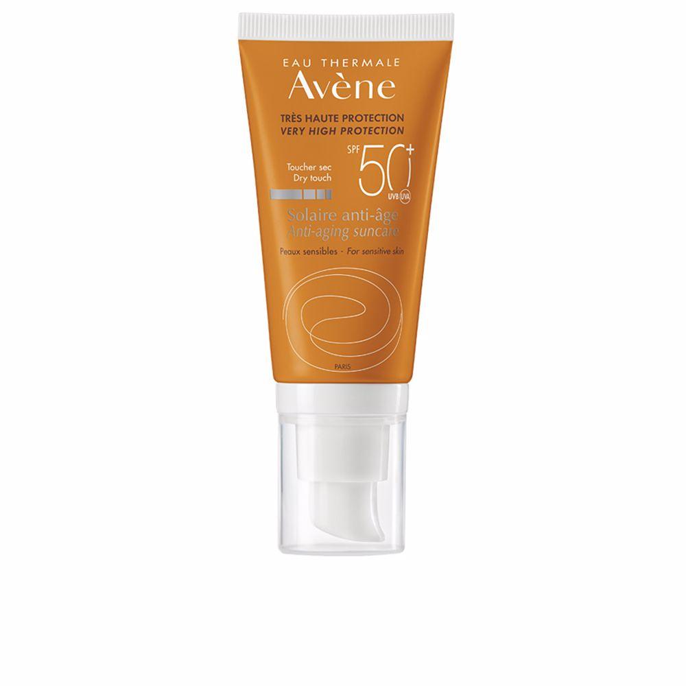 SOLAIRE HAUTE PROTECTION crème anti-âge SPF50+