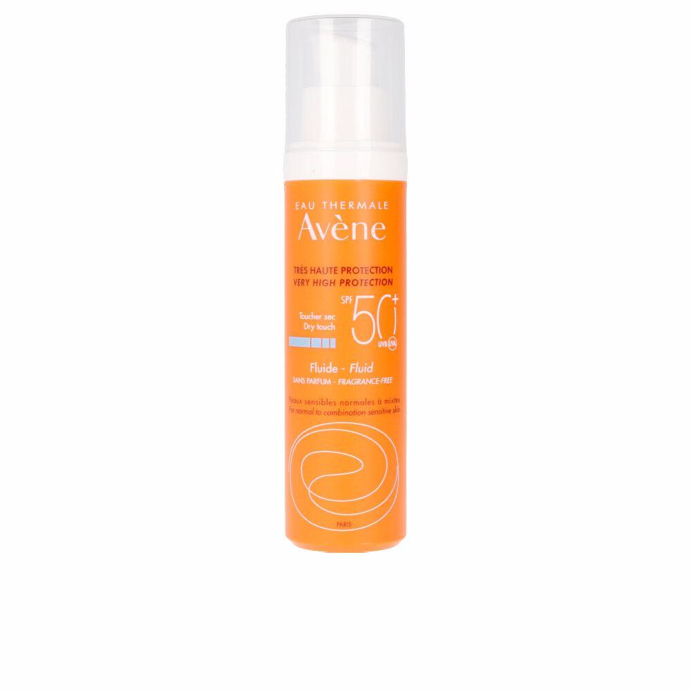 SOLAIRE HAUTE PROTECTION fluide sans parfum SPF50+