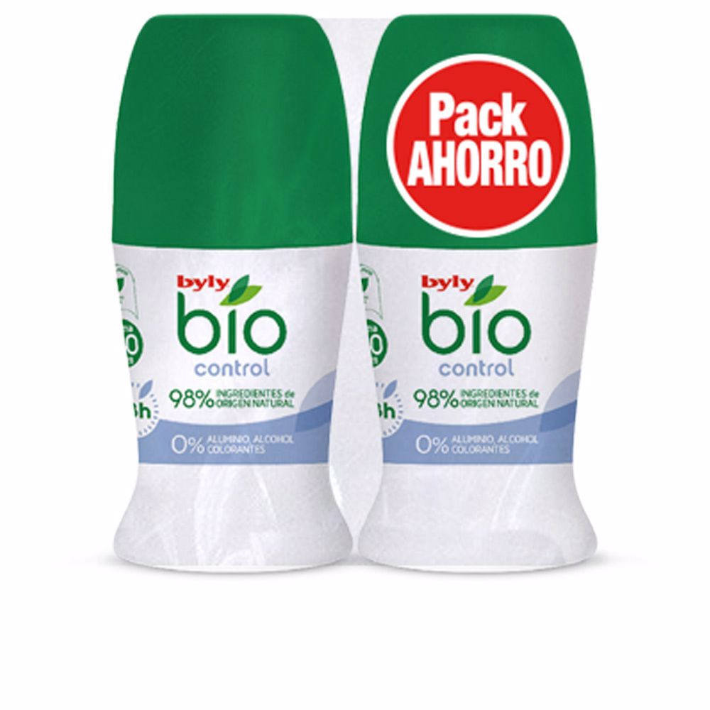 BIO NATURAL 0% CONTROL DEO ROLL-ON SET