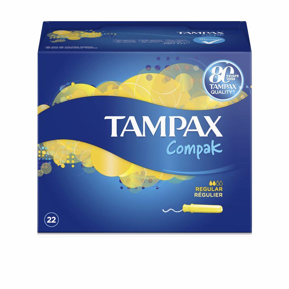 TAMPAX COMPAK tampón regular