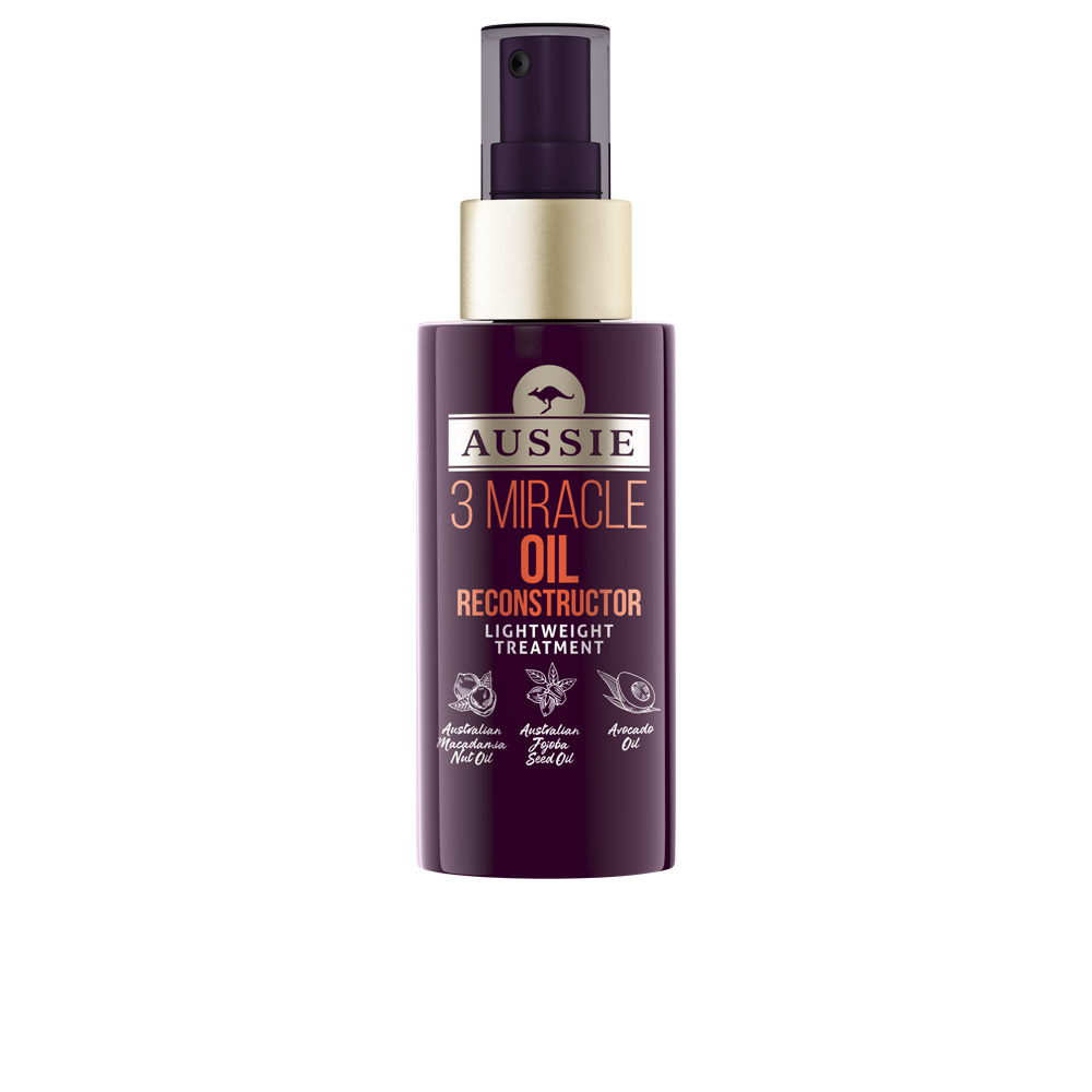 3 MIRACLE OIL reconstructor lightweight treatment