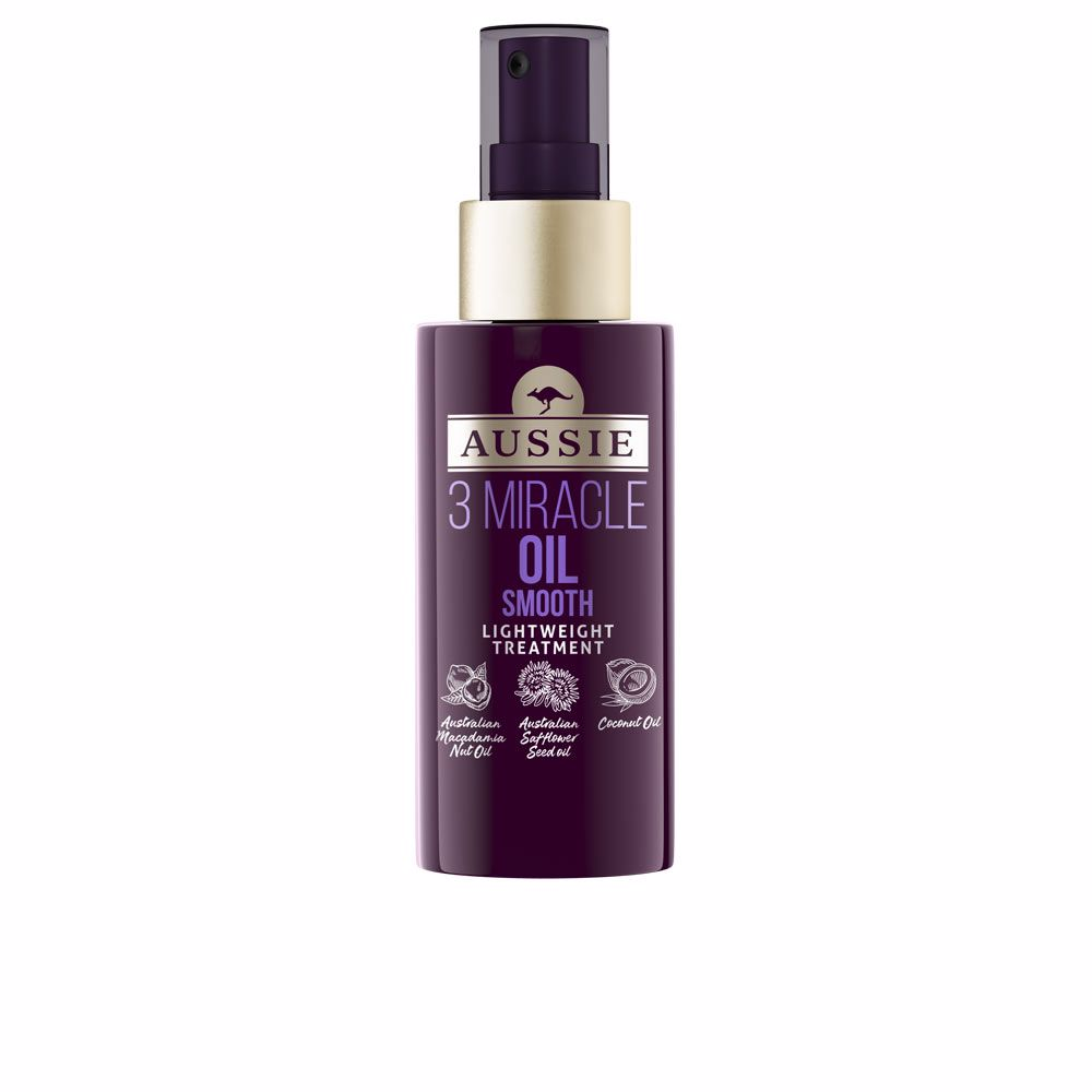3 MIRACLE OIL smooth lightweight treatment