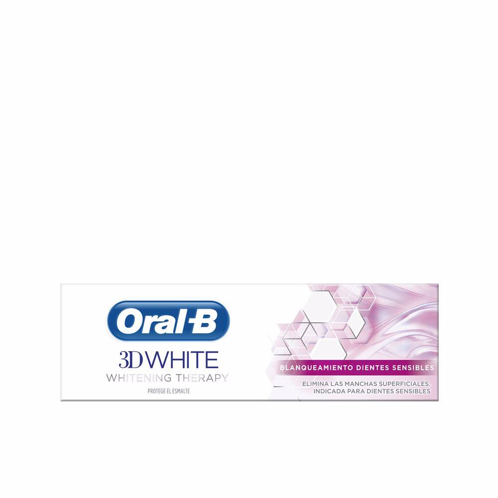 3D WHITE dientes sensibles pasta dentífrica
