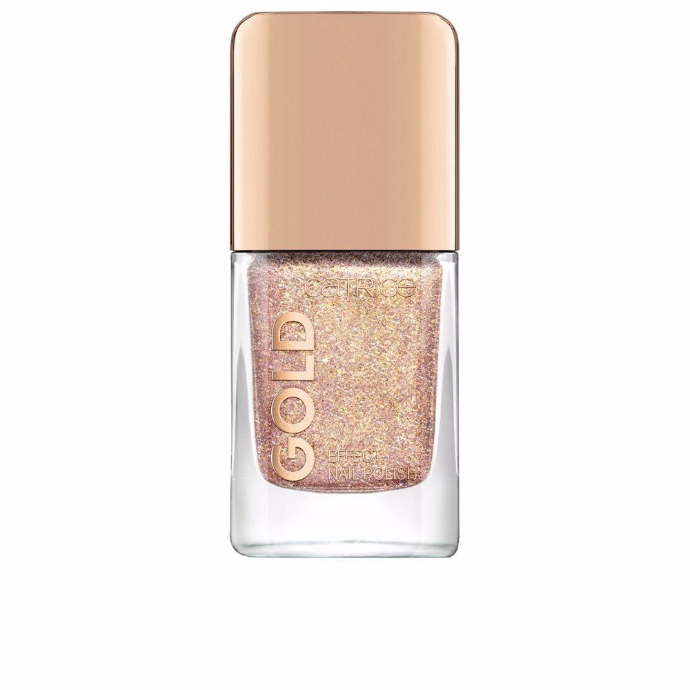 GOLD EFFECT nail polish