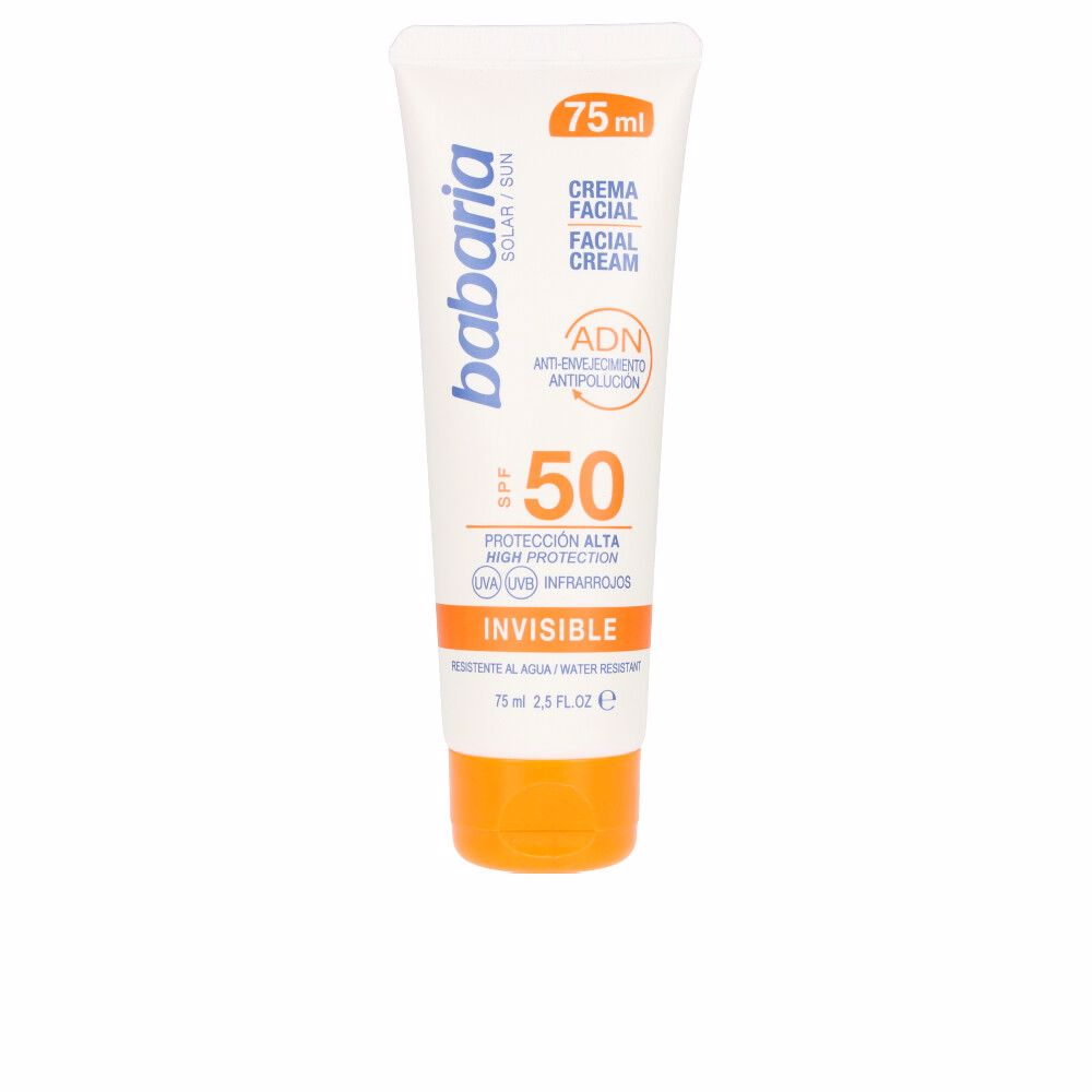 SOLAR ADN INVISIBLE crema solar facial SPF50
