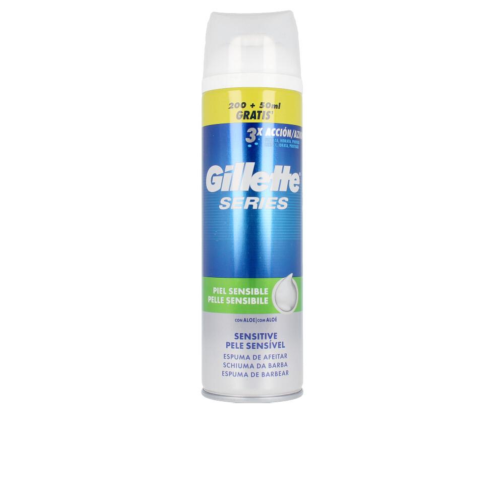 SERIES espuma de afeitar piel sensible