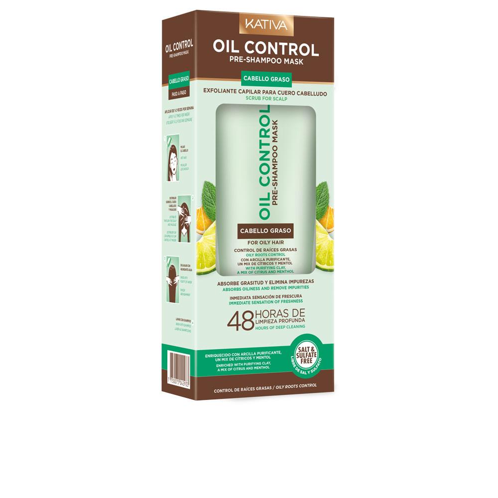 Oil Control Pre Shampoo Mask Kativa Peelings Perfumes Club