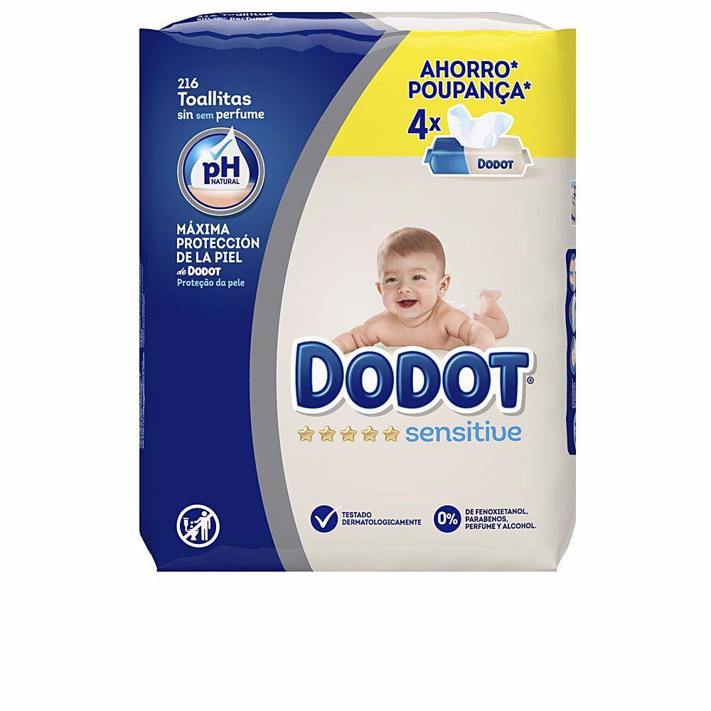 DODOT SENSITIVE PH natural toallitas húmedas