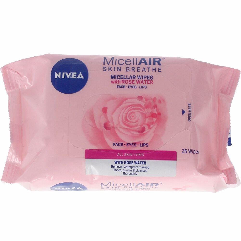 MICELL-AIR ROSE WATER toallitas desmaquilladoras