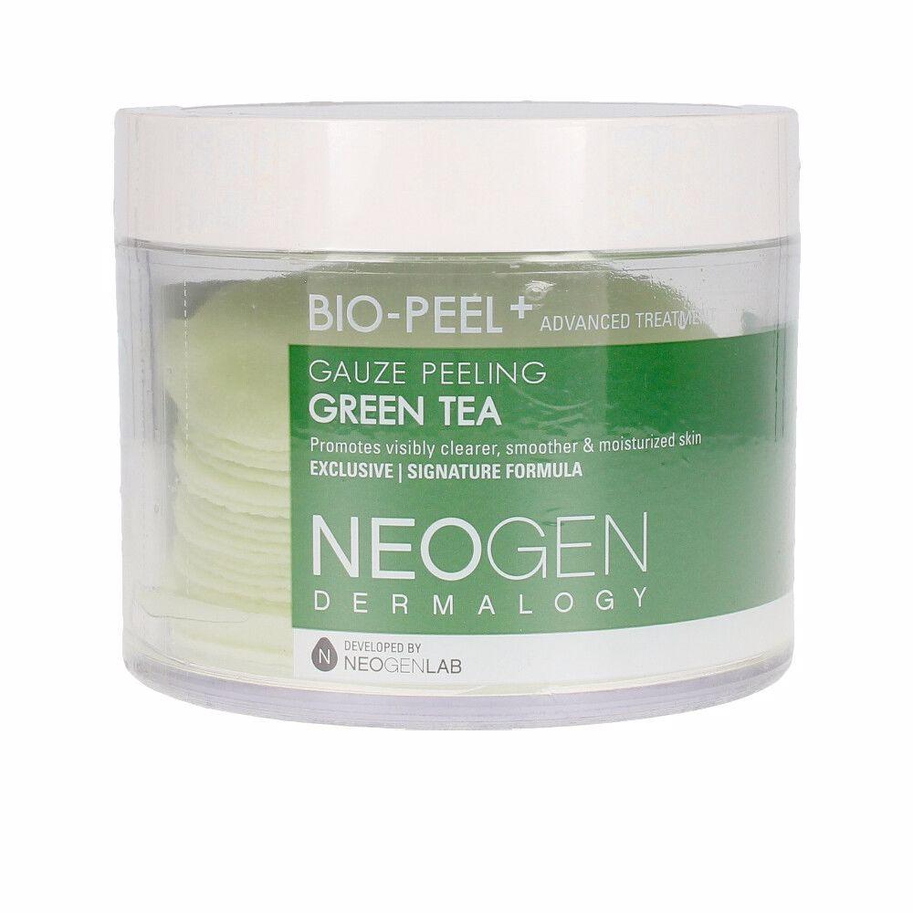 GREEN TEA gauze peeling