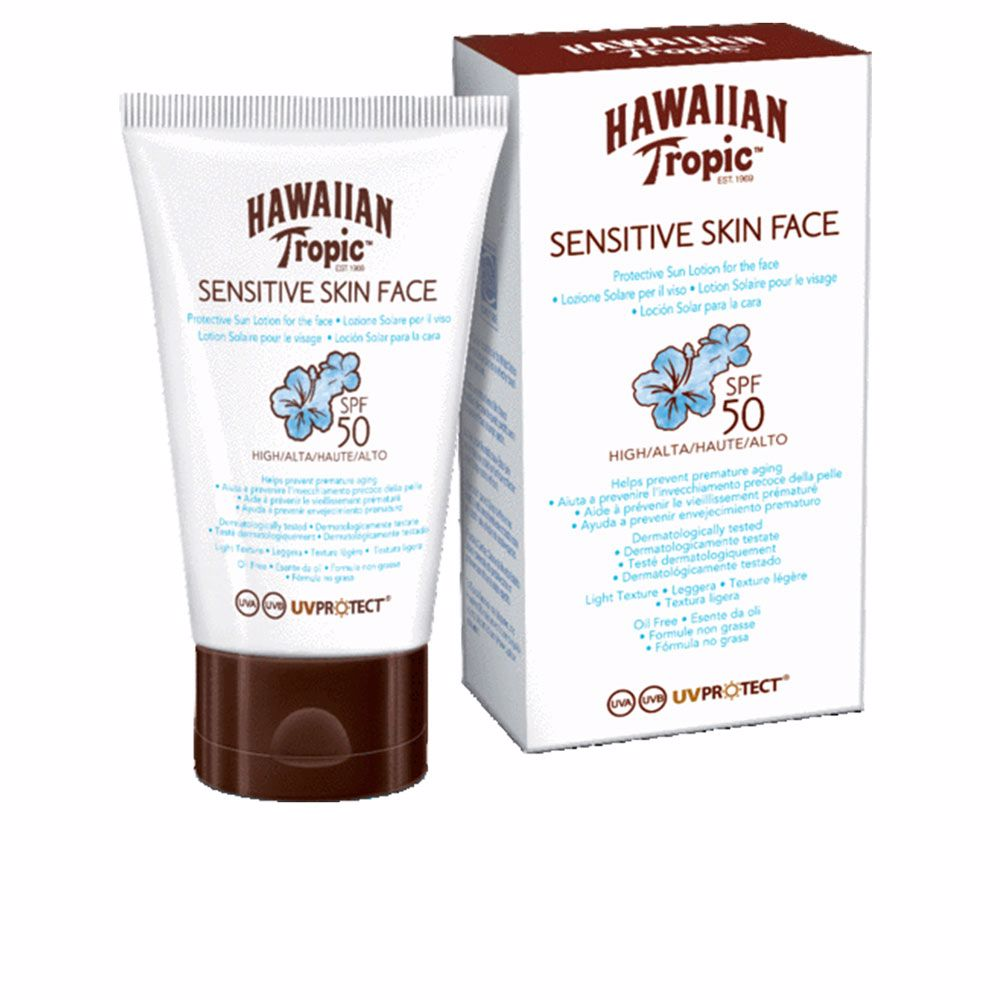 SENSITIVE SKIN FACE sun lotion SPF50