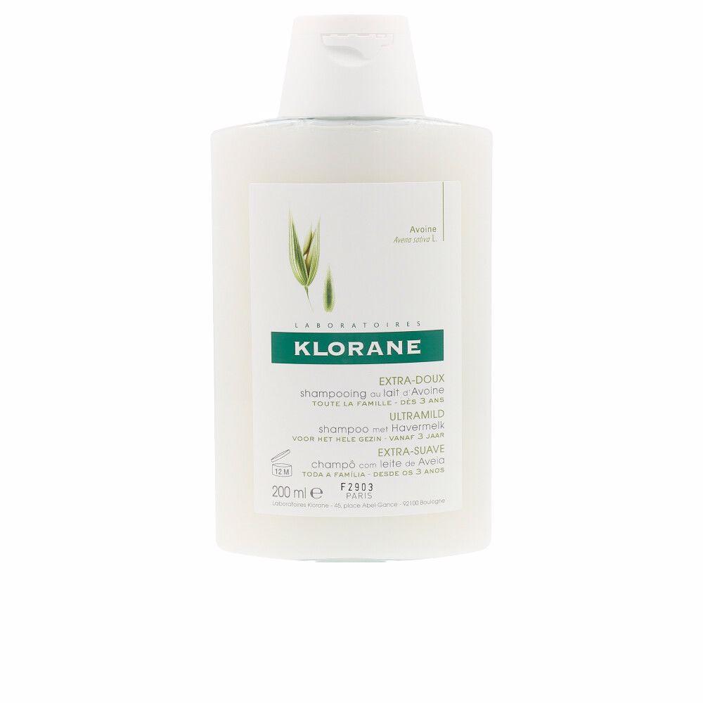 ULTRA-GENTLE shampoo with oat milk