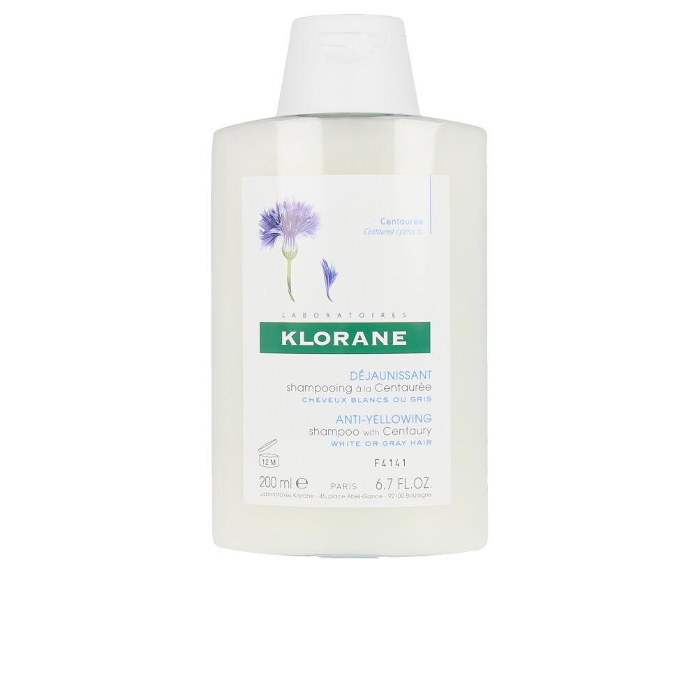 ANTI-YELLOWING shampoo with centaury