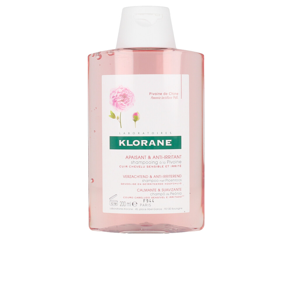 SOOTHING&ANTI-IRRITATING shampoo with peony
