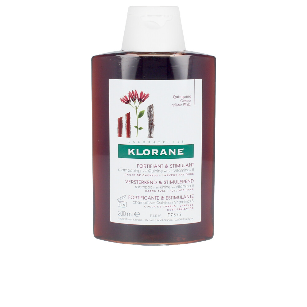 STRENGTHENING&REVITALIZING shampoo with Quinine & B Vitamins