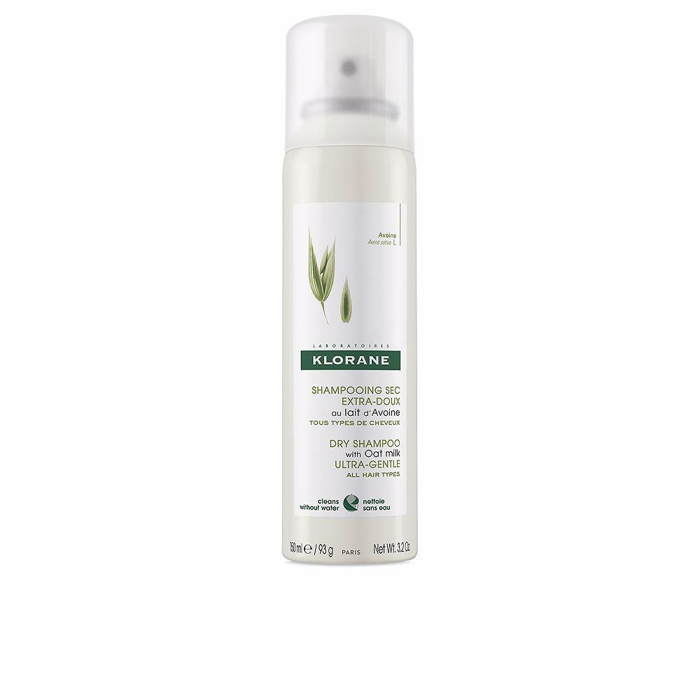 DRY SHAMPOO oat milk gentle formula all hair types