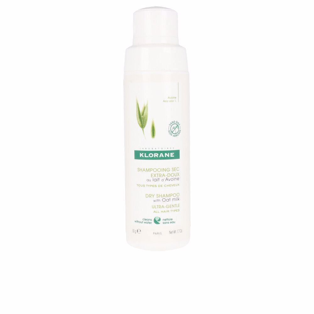 DRY SHAMPOO with oat milk ultra-gentle all hair type