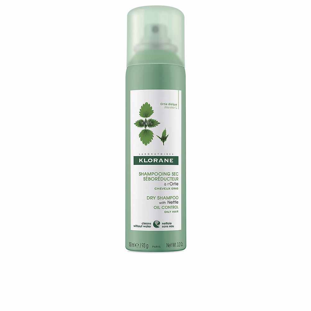 DRY SHAMPOO with nettle oil control oily hair