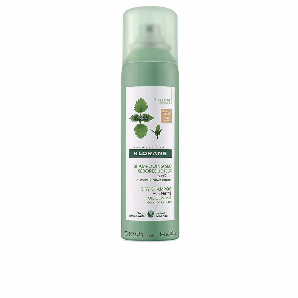 DRY SHAMPOO with nettle oil control oily, dark hair