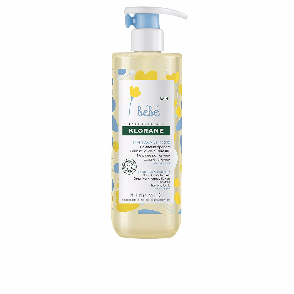 BEBÉ GENTLE CLEANSING GEL soothing calendula