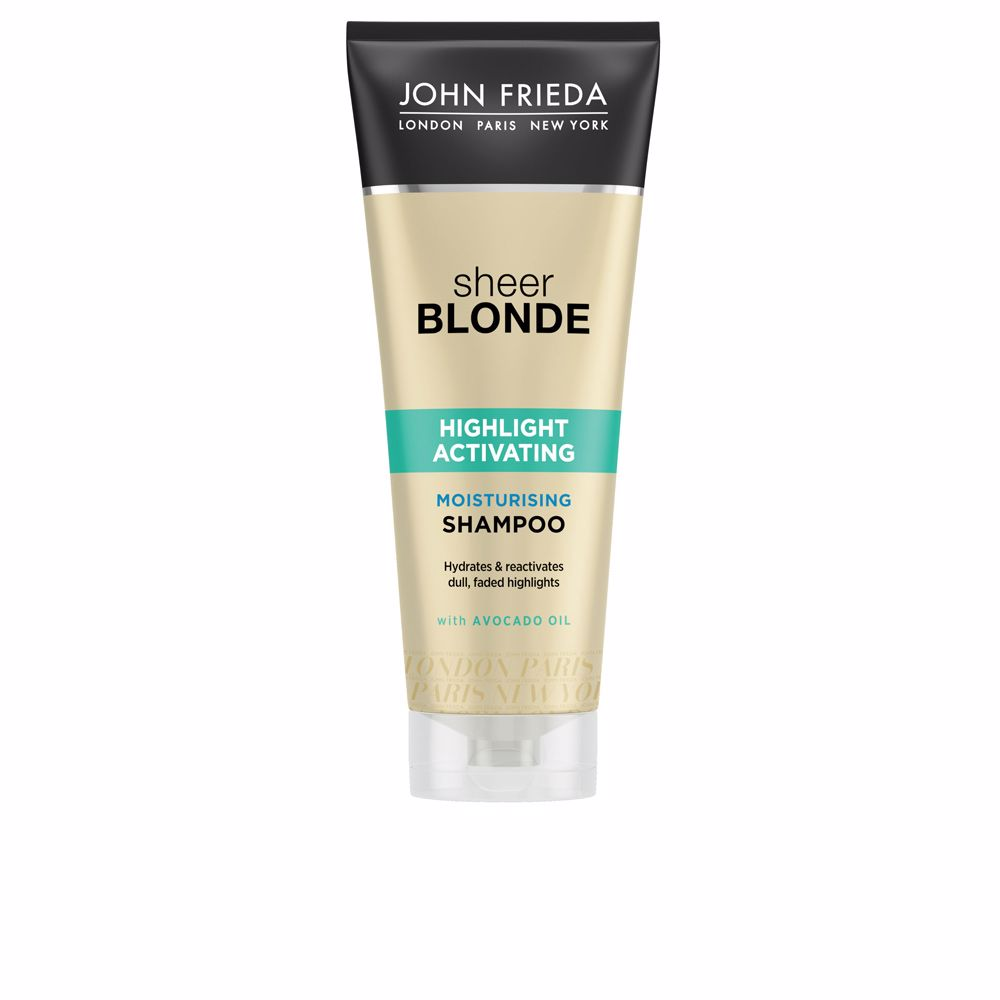 SHEER BLONDE champú hidratante cabellos rubios
