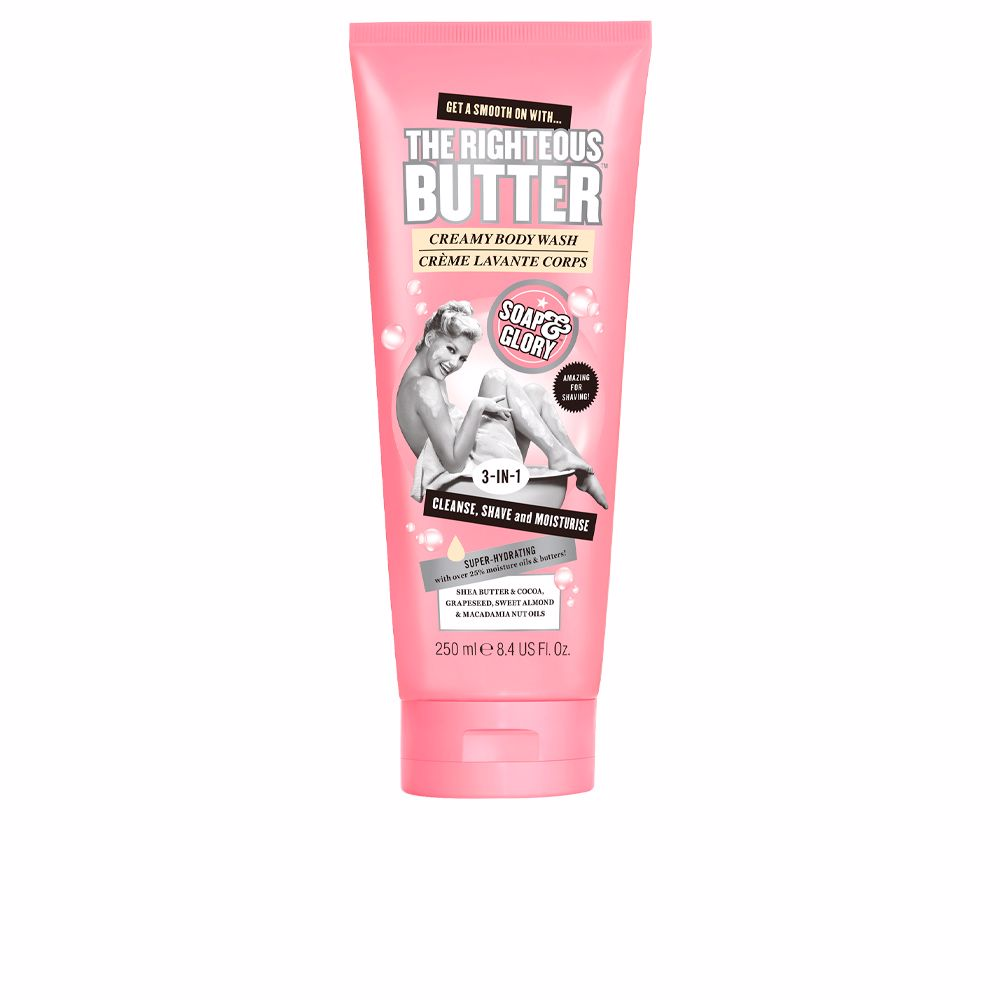 THE RIGHTEOUS BUTTER 3in1 creamy body wash