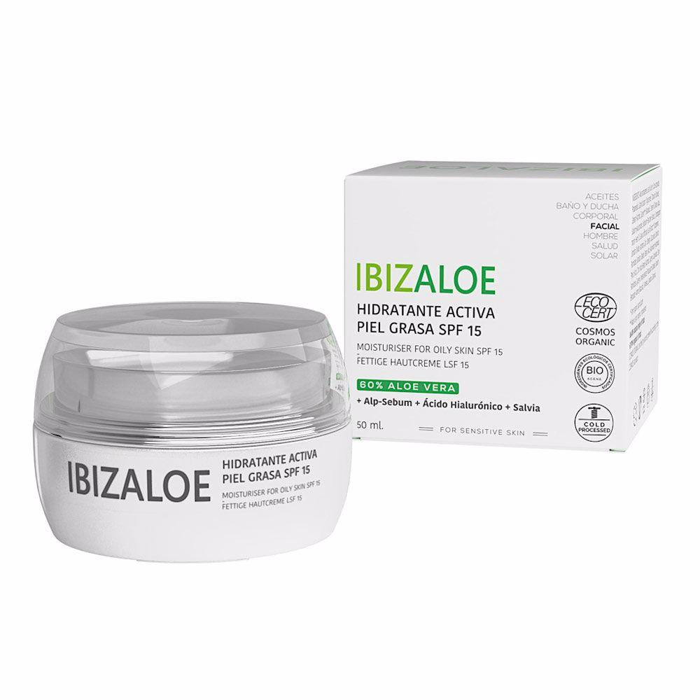 IBIZALOE hidratante activa piel grasa SPF 15
