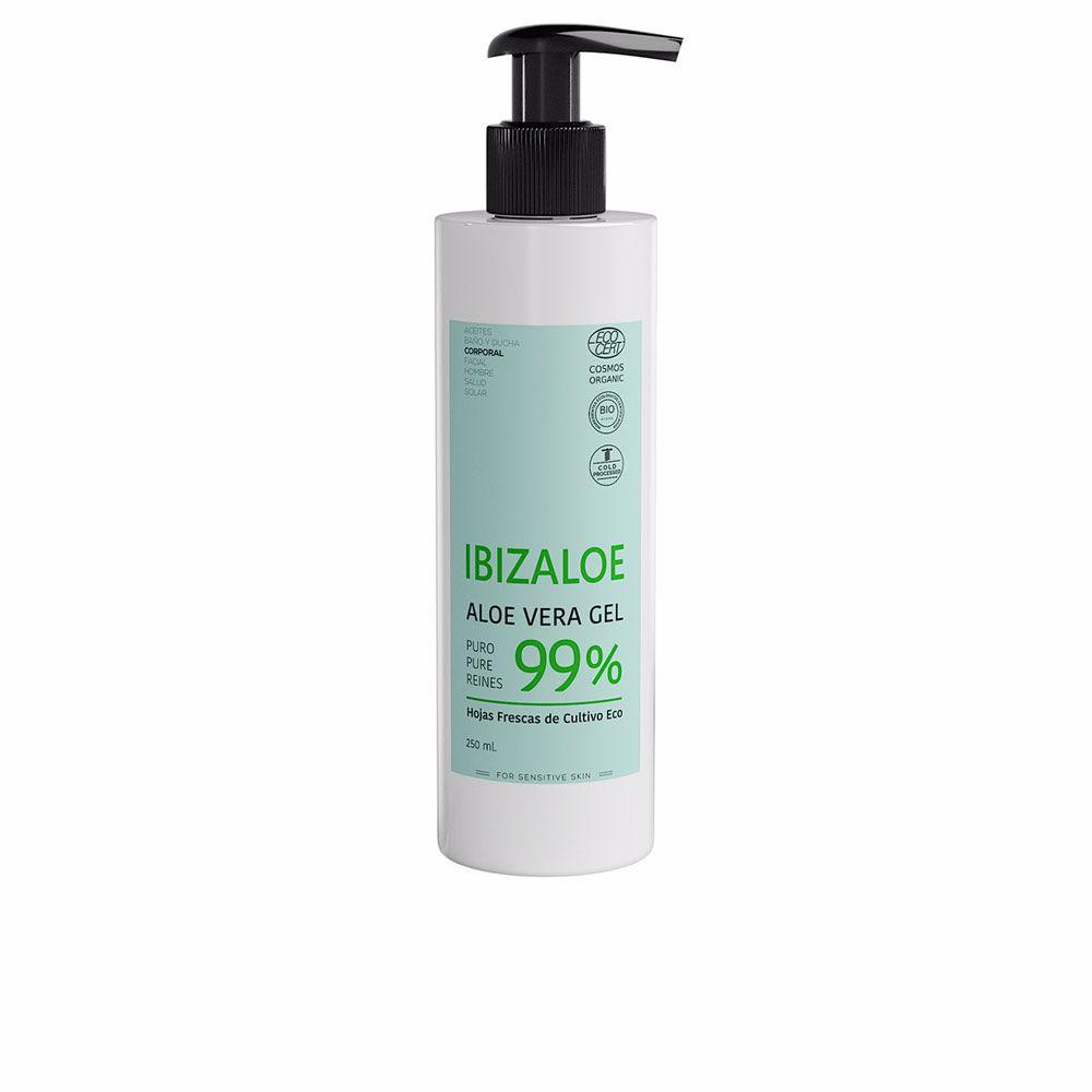 IBIZALOE gel puro de Aloe Vera 99% hojas frescas cultivo ECO