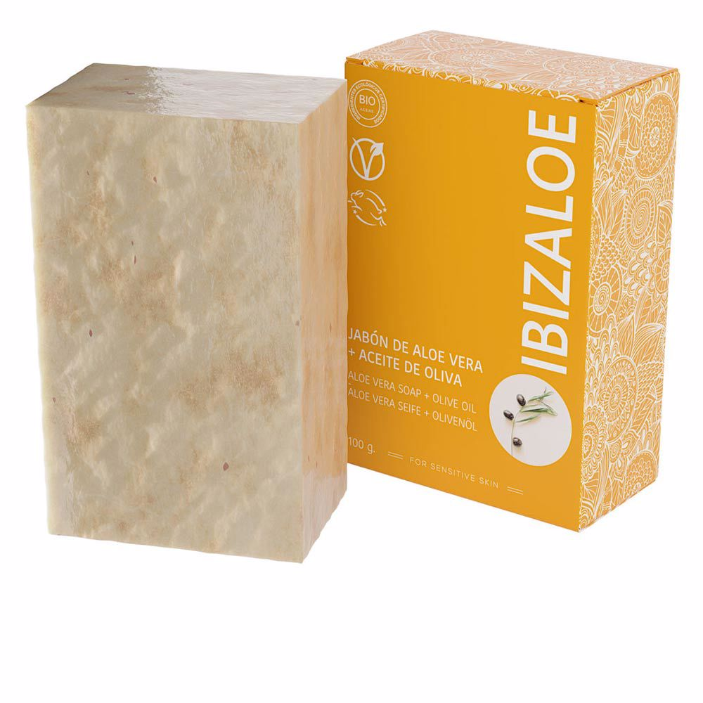 IBIZALOE jabón de Aloe Vera + Aceite de Oliva