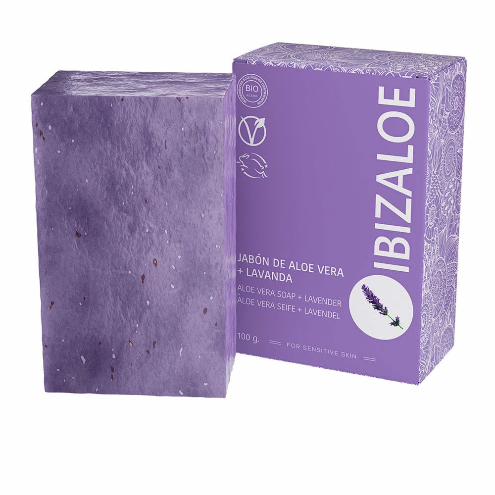 IBIZALOE jabón de Aloe Vera + Lavanda