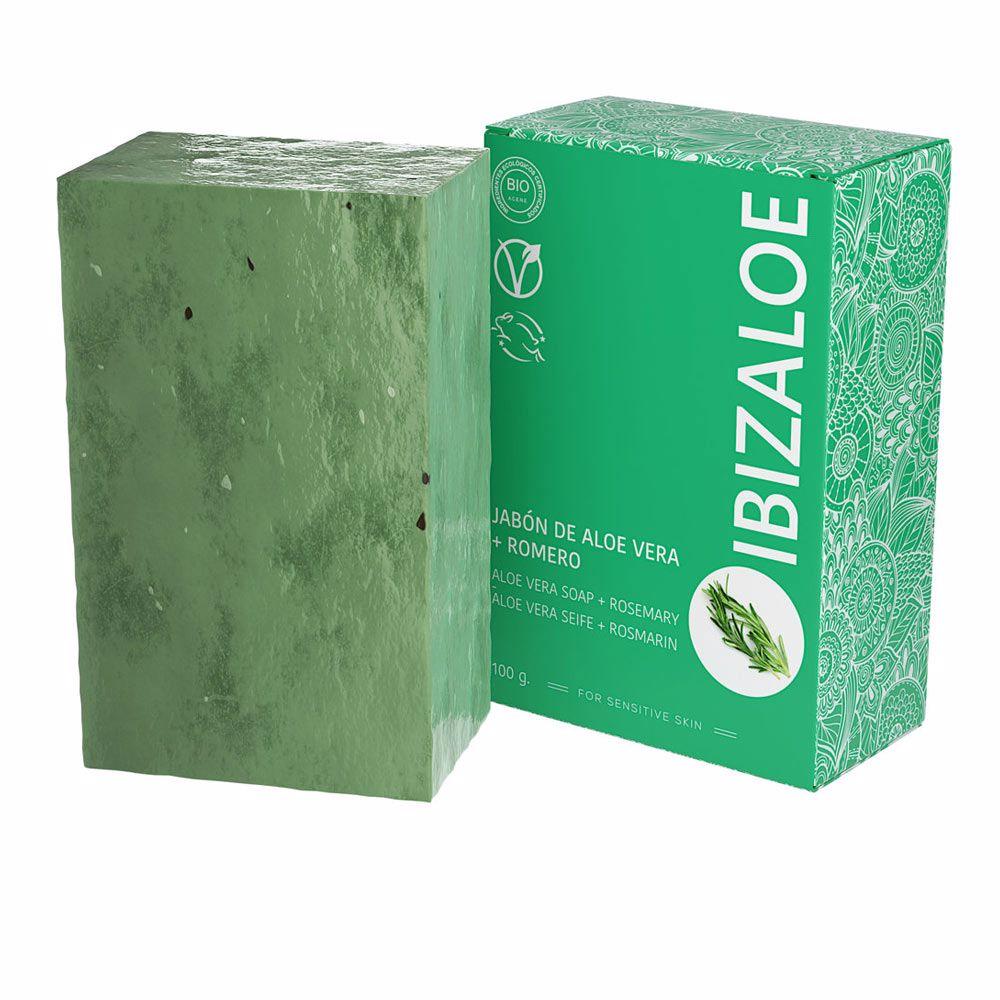 IBIZALOE jabón de Aloe Vera + Romero