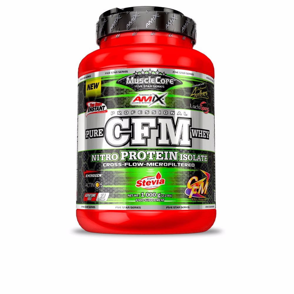CFM NITRO WHEY WITH ACTINOS #milk vainilla