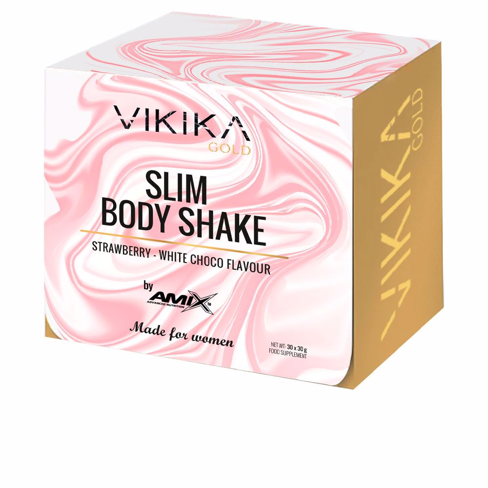 SLIM BODY SHAKE #fresa-chocolate blanco