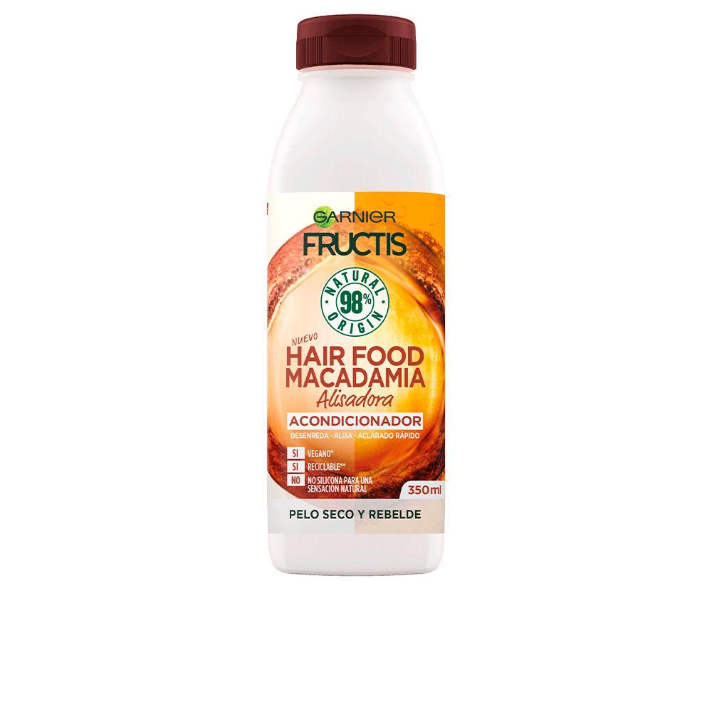 FRUCTIS HAIR FOOD macadamia suavizante alisador