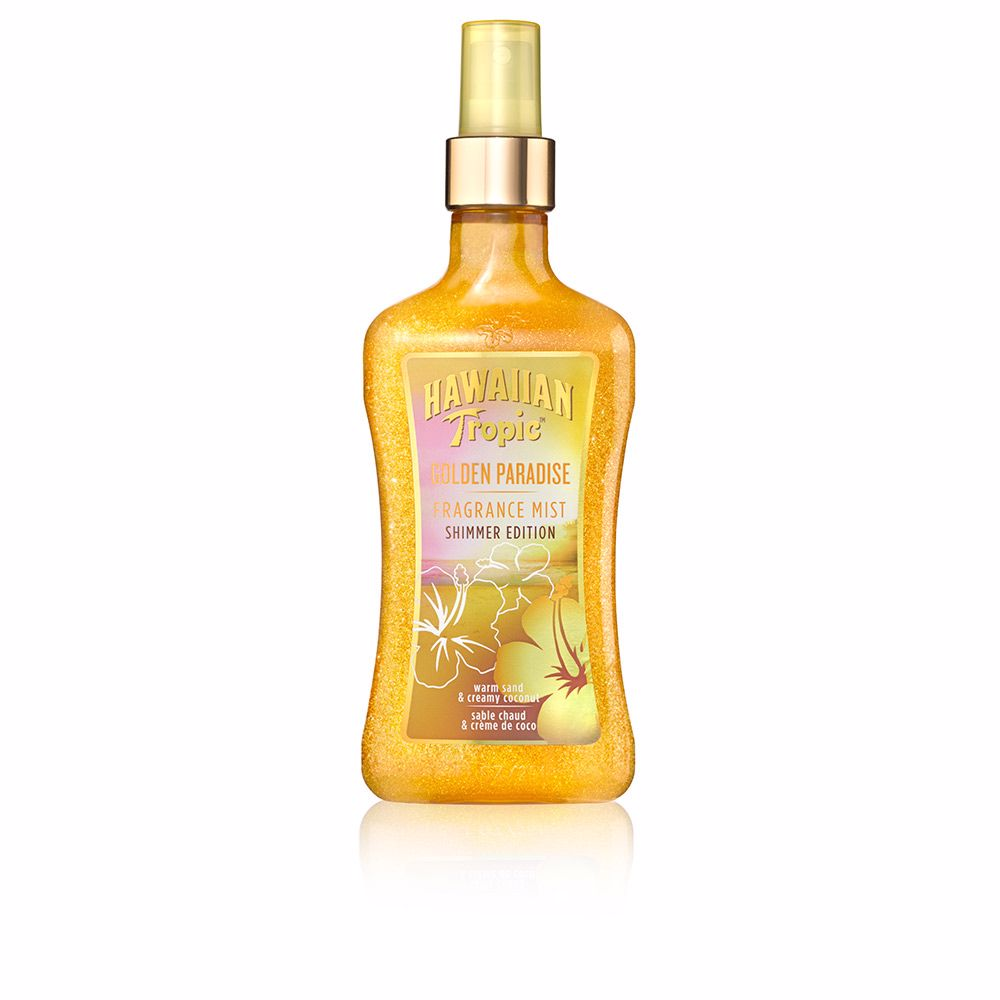 GOLDEN PARADISE fragrance mist shimmer edition