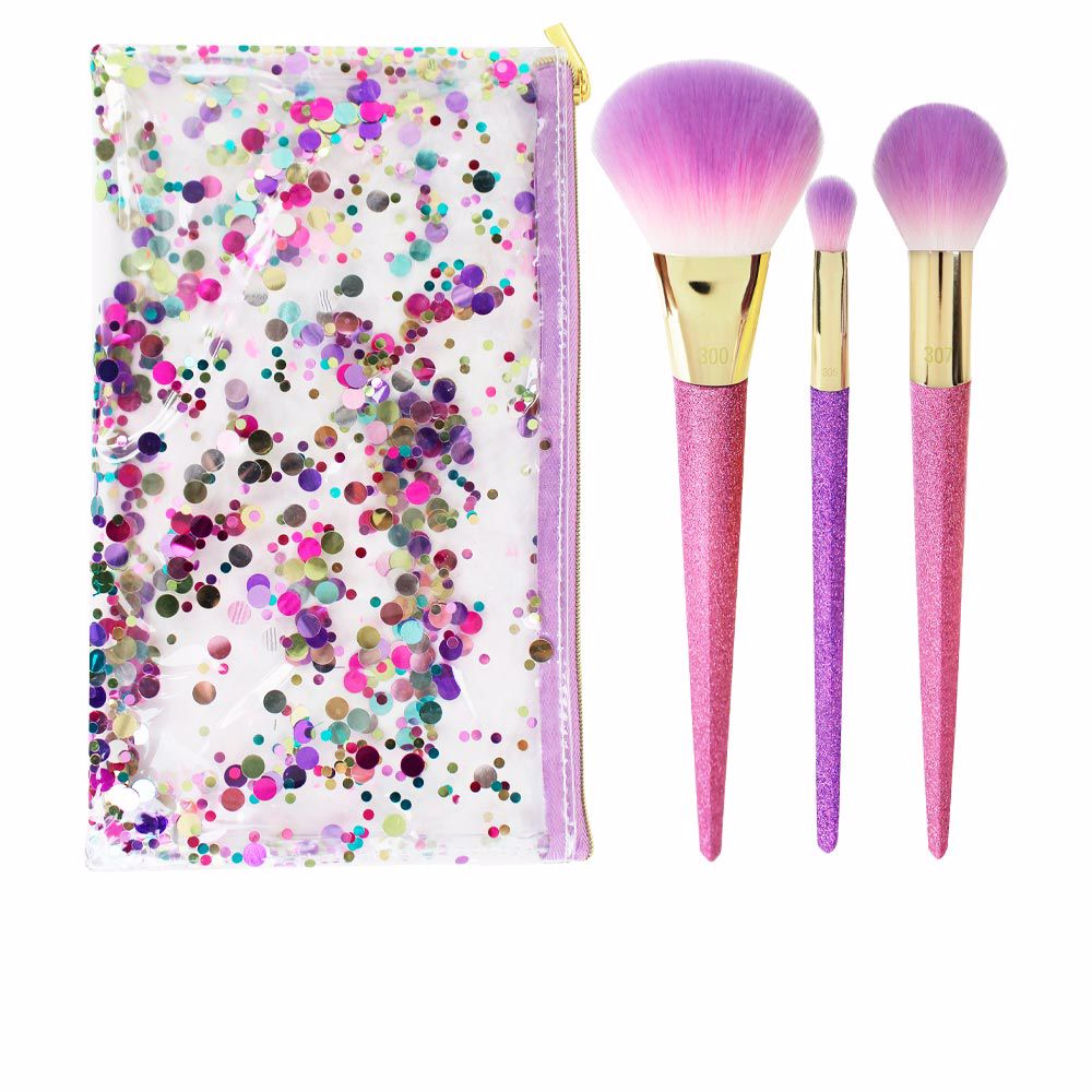 BRUSH CRUSH shimmer & shine set LOTE