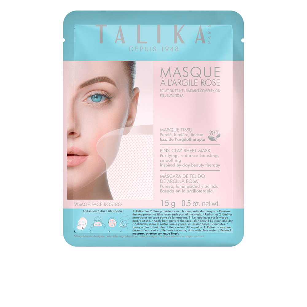 PINK CLAY purifying mask