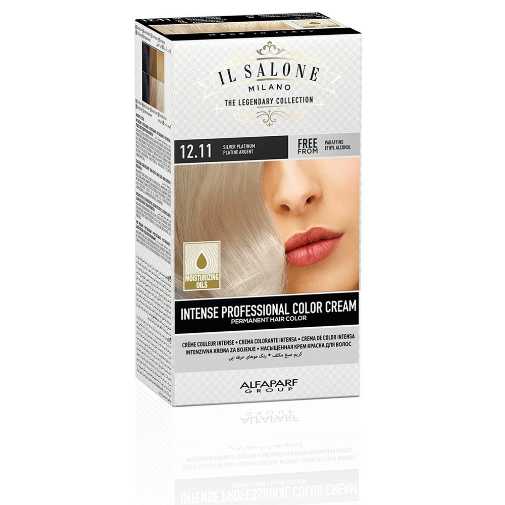INTENSE PROFESSIONAL COLOR CREAM permanent hair color #12.11