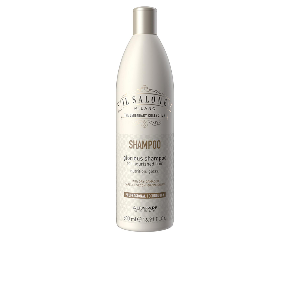 GLORIOUS shampoo for nourished hair