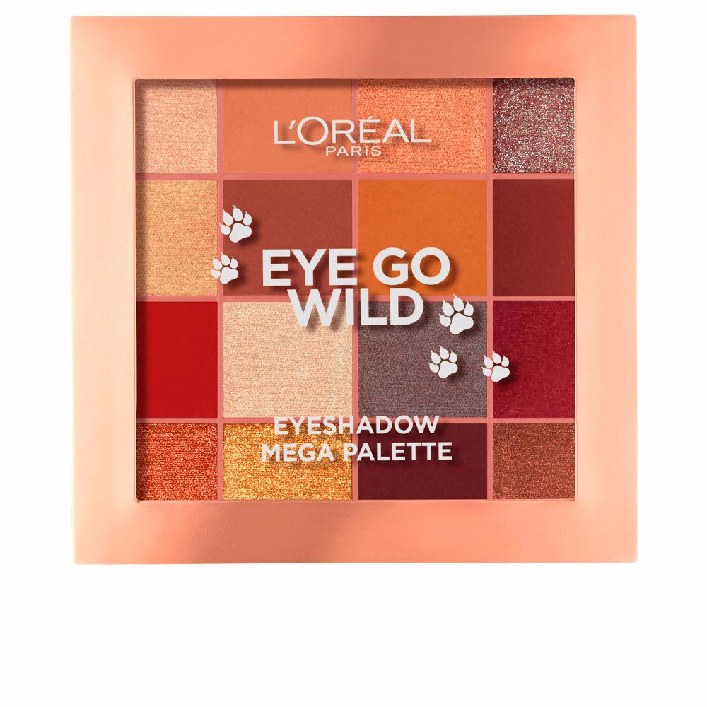 EYE GO WILD eyeshadow mega palette