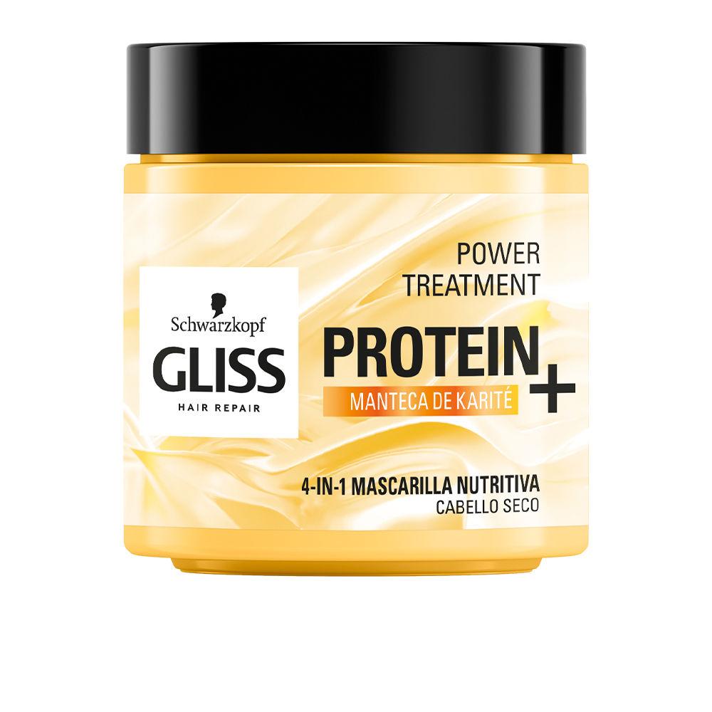 GLISS PROTEIN+ mascarilla nutrición cabello seco