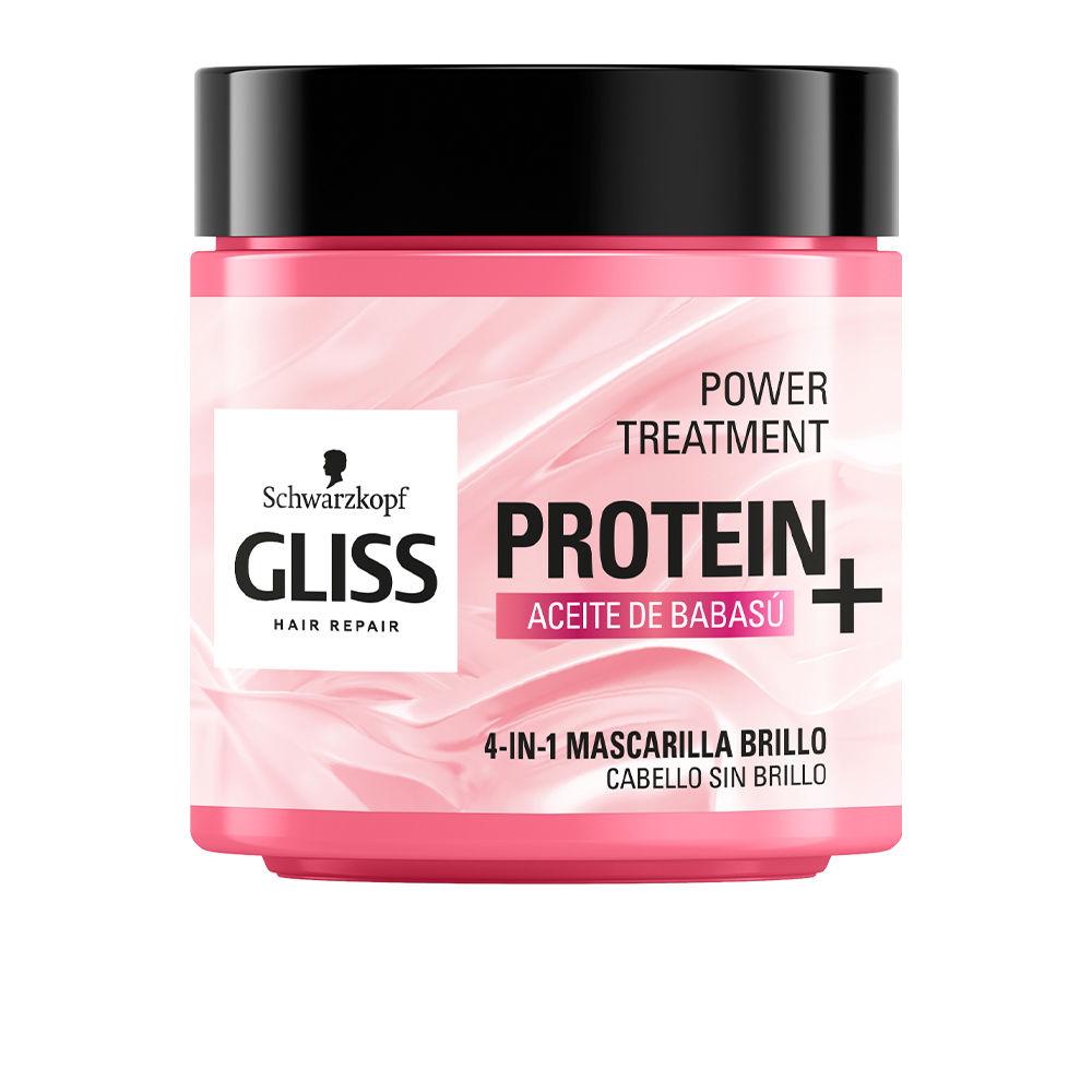 GLISS PROTEIN+ mascarilla cabello sin brillo